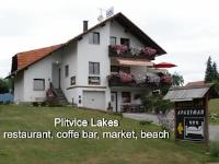 Pansion Vukovic - Dreibettzimmer mit Terrasse - Zimmer Jezera