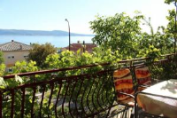 Apartments Manda - Three-Bedroom Apartment with Balcony and Sea View - Apartments Novi Vinodolski