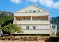 Apartments Villa Katina - Apartment mit 2 Schlafzimmern, einem Balkon und Meerblick - Ferienwohnung Komiza