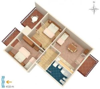 Apartment Podstrana 6044a - Appartement 2 Chambres - Appartements Podstrana