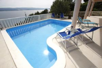 Apartments Ivančić - Appartement 1 Chambre avec Terrasse et Vue sur la Mer - Appartements Mimice