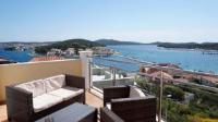 Apartments Goles - Appartement Une Chambre avec Balcon et Vue sur Mer (5 Adultes) - Chambres Lokva Rogoznica