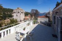 Guest House Ivica - Dreibettzimmer mit Gemeinschaftsterrasse und Meerblick - Zimmer Jezera