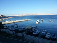 Apartments Harbour - One-Bedroom Apartment with Sea View - Apartments Senj