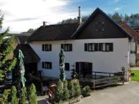Rooms Buneta - Dreibettzimmer mit Balkon - Slunj