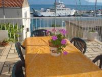 Apartments San Giorgio - Studio mit Balkon und Meerblick (4 Erwachsene) - Ferienwohnung Sucuraj