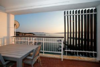 Beach Apartments - Studio Apartment with Sea View and Balcony - Apartments Senj