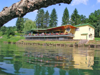 Motel Dobra - Double or Twin Room with River View - Rooms Cervar Porat