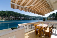Apartments Kuzma - One-Bedroom Apartment with Balcony and Sea View - Smokvica