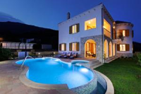 Guesthouse Villa Nera - Deluxe Double Room with Outside Spa Bath and Sea View - Rooms Bol