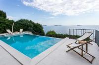 Apartments Villa Mirjana - Apartment mit 2 Schlafzimmern, einem Balkon und Meerblick - Mlini
