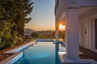 Villa Stella Adriatica - Apartment mit 3 Schlafzimmern, einer Terrasse und Meerblick - Ferienwohnung Polje