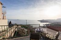 Apartment Little House - Appartement 1 Chambre avec Balcon - Vue sur Mer - Maisons Plitvica Selo
