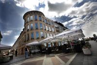 Hotel Savus - Dvokrevetna soba s bračnim krevetom ili s 2 odvojena kreveta - Slavonski Brod