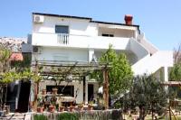 Apartments Lovre - Studio mit einer Terrasse - Erdgeschoss - meerblick wohnungen pag