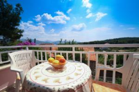 Apartments Oliva - Two-Bedroom Apartment with Balcony and Sea View - Kolocep