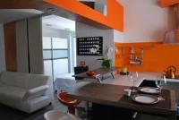 Apartment Orange - Studio with Terrace and Sea View - Novigrad