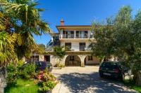 Guesthouse Katica - Dvokrevetna soba s bračnim krevetom i balkonom s pogledom na more - Kornic