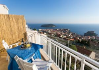 Guest House Old Town View - Three-Bedroom Apartment with Balcony and Sea View - dubrovnik apartment old city