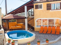 Family Accommodation Doris - House for 8 persons - croatia house on beach