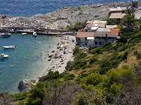 Ferienwohnung am Strand Bak - Zimmer für 2 Personen - Zimmer Hvar
