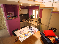 Holiday Rental Violet & Ema - Duplex studio apartment for 2 persons - Apartments Kapelica