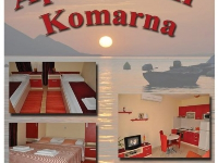 Apartmani Komarna - Apartman za 2 osobe (Narančasti) - Sobe Poljane