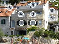 Plage Appartements & Chambres Porat - Chambre pour 3 personnes (A3,4) - Chambres Pisak