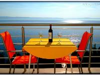 Ferienwohnung am Strand Ark - Zimmer für 2 Personen mit Meerblick - Zimmer Stobrec